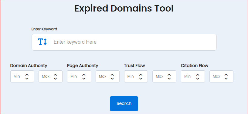 Expired Domain Finder