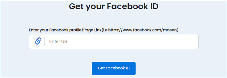 Get Your Facebook ID
