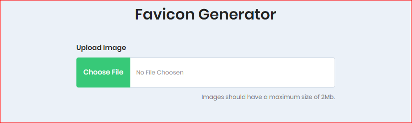 Favicon generator, Convert PNG to Ico, Instant website Icon