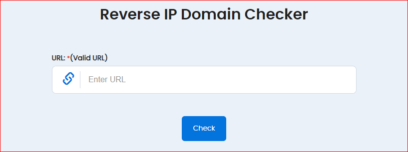 Reverse IP Domain Check