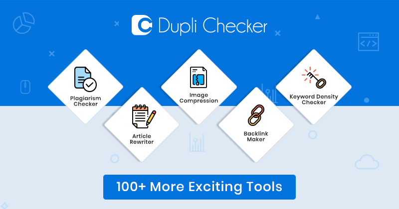 Duplichecker com | Best online site with 100% free Tools