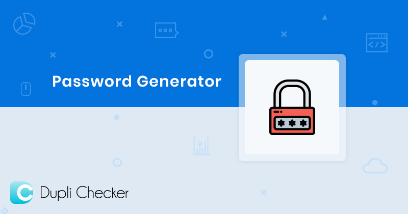 Random password generator, Make Strong and secure Passwords